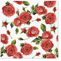 Servietten 33x33 cm - Rosy Style