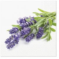 Servietten 33x33 cm - Lavendelstrauß