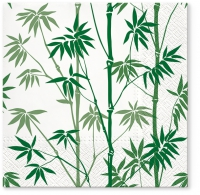 Servietten 33x33 cm - Bamboo Forest green