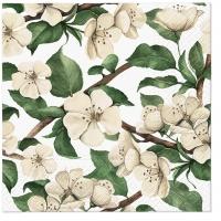Servietten 33x33 cm - Apple Blossoms