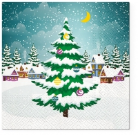 Servietten 33x33 cm - Beautiful Xmas Tree