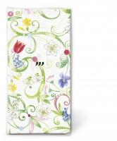 Taschentücher - Floral pattern