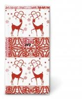 Taschentücher - TT Two deers red