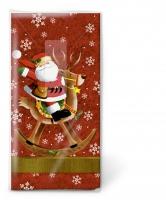 Taschentücher Santa rides