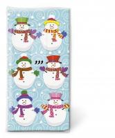 Taschentücher Snowmen team