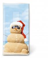 Taschentücher Beach snowman