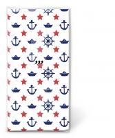 Taschentücher TT Navy white