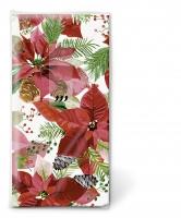 Taschentücher - TT Glänzender Weihnachtsstern