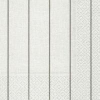 Servietten 25x25 cm - Home white/beige