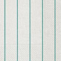 Servietten 25x25 cm - Home white/ aqua