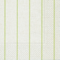Servietten 25x25 cm - Home white/green