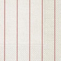 Servietten 25x25 cm - Home white/rosé