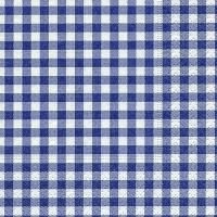 Servietten 25x25 cm - Neu Vichy Lavendel