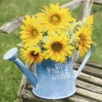 Servietten 25x25 cm - Blumen & Garten