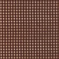 Servietten 25x25 cm - Vichy brown