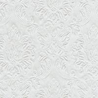 Servietten 25x25 cm - Momente Ornament Perle