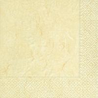 Servietten 25x25 cm - Pure cream