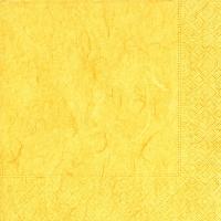Servietten 25x25 cm - Reines Gelb
