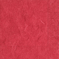 Servietten 24x24 cm - Pure red