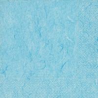 Servietten 25x25 cm - Pure pastel blue