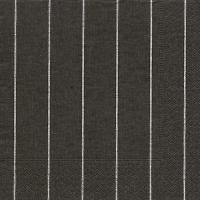 Servietten 33x33 cm - Home black