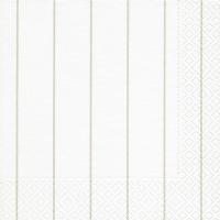 Servietten 33x33 cm - Home white/ beige