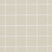 Servietten 33x33 cm - Home square beige
