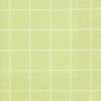 Servietten 33x33 cm - Home square green