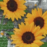 Lunch Servietten Garden sunflowers