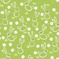 Servietten 33x33 cm - Easter meadow