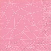 Servietten 33x33 cm - Grid