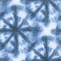 Servietten 33x33 cm - Batik-Effekt