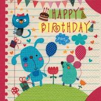 Servietten 33x33 cm - Childs birthday