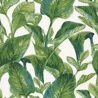 Servietten 33x33 cm - Exotic leaves