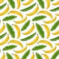 Servietten 33x33 cm - Bananen