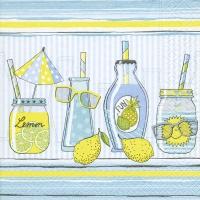 Servietten 33x33 cm - Limonade