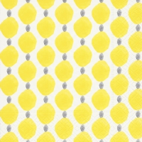 Servietten 33x33 cm - Citrus dots