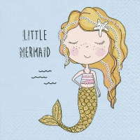 Servietten 33x33 cm - Little mermaid