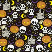 Servietten 33x33 cm - Halloween mix