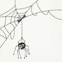 Servietten 33x33 cm - Spinnennetz