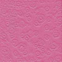 Servietten 33x33 cm - Moments Uni pink