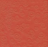Servietten 33x33 cm - Moments Uni red