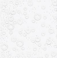 Servietten 33x33 cm - Moments Uni white