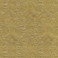 Servietten 33x33 cm - Momente Ornament Gold geprägt