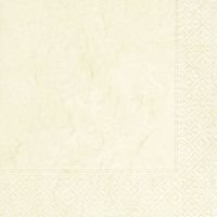 Servietten 33x33 cm - Pure cream