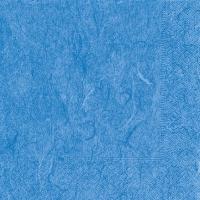 Servietten 33x33 cm - Pure blue