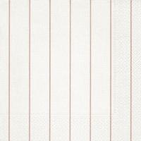 Servietten 40x40 cm - Home white/rosé