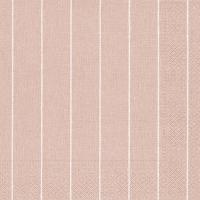Servietten 40x40 cm - Haus rosé