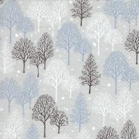 Servietten 25x25 cm - Winterbäume