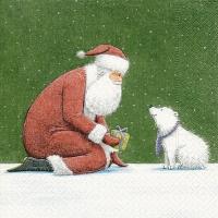 Servietten 25x25 cm - Erste Weihnachten